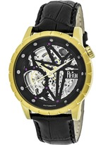 Reign Xavier Collection REIRN3904 Men's Gold Stainless Steel Automatic Watch