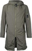 Factotum hooded raincoat - men - Nylon - 46