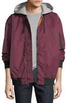Hudson Hooded Bomber Jacket