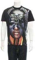 Givenchy Tribal Print Crew Neck T-Shirt