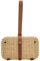 One Kings Lane Vintage Hermes Picnic Barenia Clutch - Vintage Lux - natural/palladium