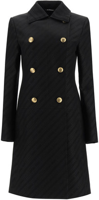 Givenchy Chaine Coat With 4g Buttons