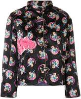 Tsumori Chisato Cosmo Girl print fitted jacket