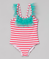 Pink Platinum Pink Stripe One-Piece - Infant