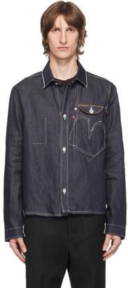 Junya Watanabe Indigo Levis Edition Denim Selvedge Shirt