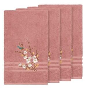 Linum Home Turkish Cotton Springtime 4-Pc. Embellished Bath Towel Set Bedding
