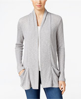 Calvin Klein Jeans Ribbed Open-Front Cardigan