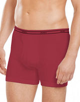 Jockey 4-Pack Stay New Low-Rise Knit Boxer Briefs