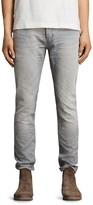 AllSaints Grayson Rex Slim Fit Jeans in Gray