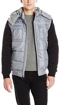 Southpole Men's Hooded Color-Block Jacket