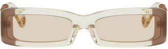 Jacquemus Yellow Les Lunettes 97 Sunglasses