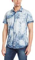True Religion Men's Triple Needle SS Western Shirt