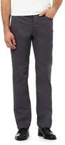 J By Jasper Conran Big And Tall Grey Textured Waffle Trousers