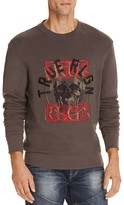 True Religion Layered Skull Embroidered Sweatshirt