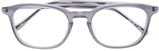 Matsuda Square Glasses