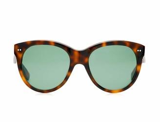 Oliver Goldsmith Sunglasses Manhattan 1960 Dark Tortoiseshell