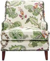 Moran Carter Chair - Henrietta Evergreen Fabric