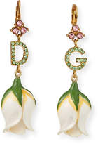 Dolce & Gabbana Crystal Tulip-Drop Earrings