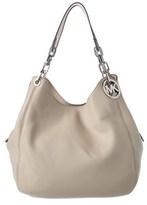 MICHAEL Michael Kors Fulton Leather Large Shoulder Bag.