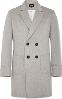 Oxford Chuck Double Breasted Coat Gry X
