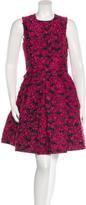 Michael Kors Embroidered A-Line Dress