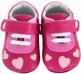 Jack & Lily Heart Cut-Out Sneaker - Pink, Size 30-36m