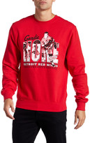 Mitchell & Ness Long Sleeve Graphic Sweater