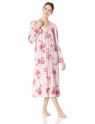 Aria Women's Long Sleeve Ballet Nightgown