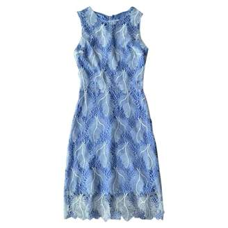 Elie Tahari Blue Lace Dress for Women