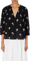 Ulla Johnson Women's Ada Blouse-BLACK