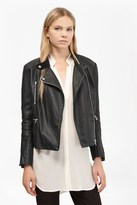 French Connection Decade Faux Leather Biker Jacket
