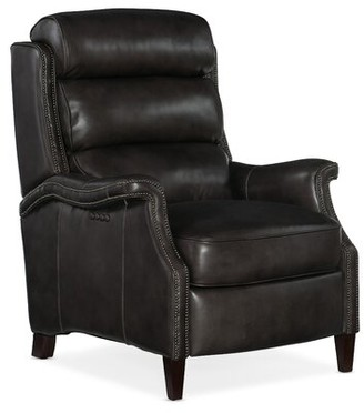 Hooker Furniture Carlin Leather Power Recliner