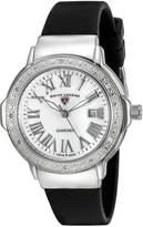 Swiss Legend Women's 20032DSM-02 South Beach Analog Display Swiss Quartz Black Watch