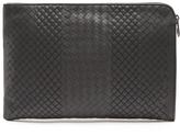 Bottega Veneta Stitched intrecciato leather document holder