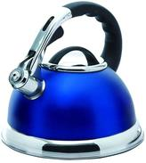 Creative Home Camille 12-Cup Tea Kettle with Stainless Steel in Opaque Blue
