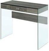 Wade Logan Calorafield Desk Color: Weathered Gray