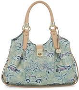 Brahmin Elisa Copa Cabana Leather Shoulder Bag