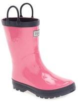Hatley Toddler Girl's Waterproof Rain Boot