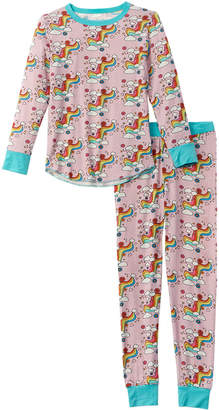 Rowdy Sprout Rainbow Love 2Pc Base Layer Set