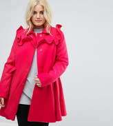 Asos Skater Coat with Frills