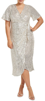 Forever New Curve Serena Sequin Curve Gown