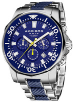 Akribos XXIV Men&s Quartz Chronograph Bracelet Watch