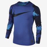Nike Pro HyperWarm Big Kids' (Boys') Long Sleeve Training Top