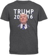 Old Glory Election 2016 Trump Vector Dark Heather Adult T-Shirt