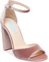 Blue by Betsey Johnson Carly Block-Heel Sandals Women's Shoes