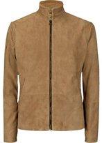 AX Fashions Mens James Bond Suede Daniel Craig Spectre Morocco Blouson Leather Jacket M