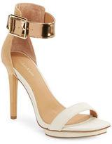 Calvin Klein Vable Platform Sandal Heels