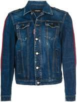 DSQUARED2 slim-fit denim jacket
