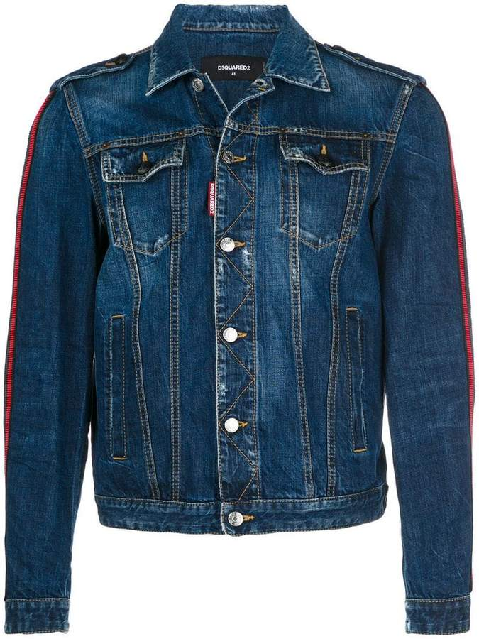 DSQUARED2 slim-fit denim jacket