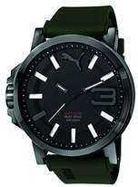 Puma PU-Ultrasize 50 Men's Watch, Black Army Green